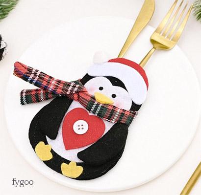 クリスマス柄カトラリーレスト