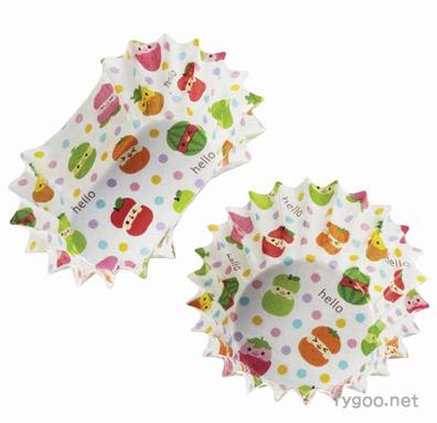 おかずカップフルーツ柄2種 トルネ fygoo.net